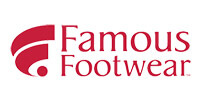 famous footwear application