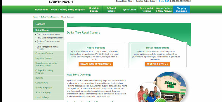 Dollar Tree Store Job Application Online | Beatiful Tree